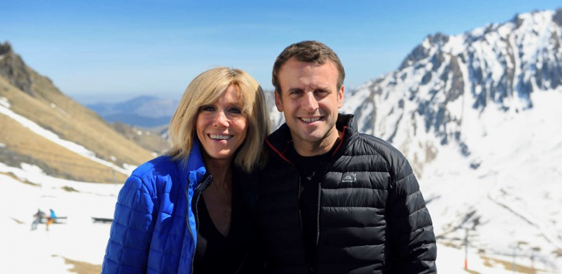 Declarația de dragoste a lui Emmanuel Macron pentru soția sa, într-un interviu CNN (Video)