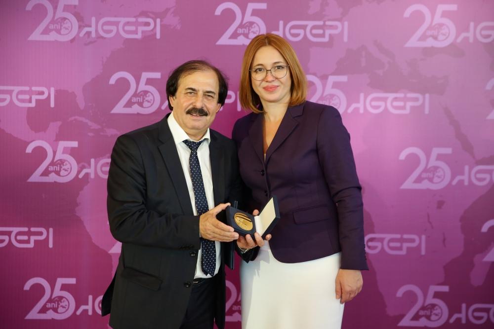 Nicolae Botgros a fost distins cu unul dintre cele mai importante titluri pentru Creativitate – Medalia de Aur OMPI