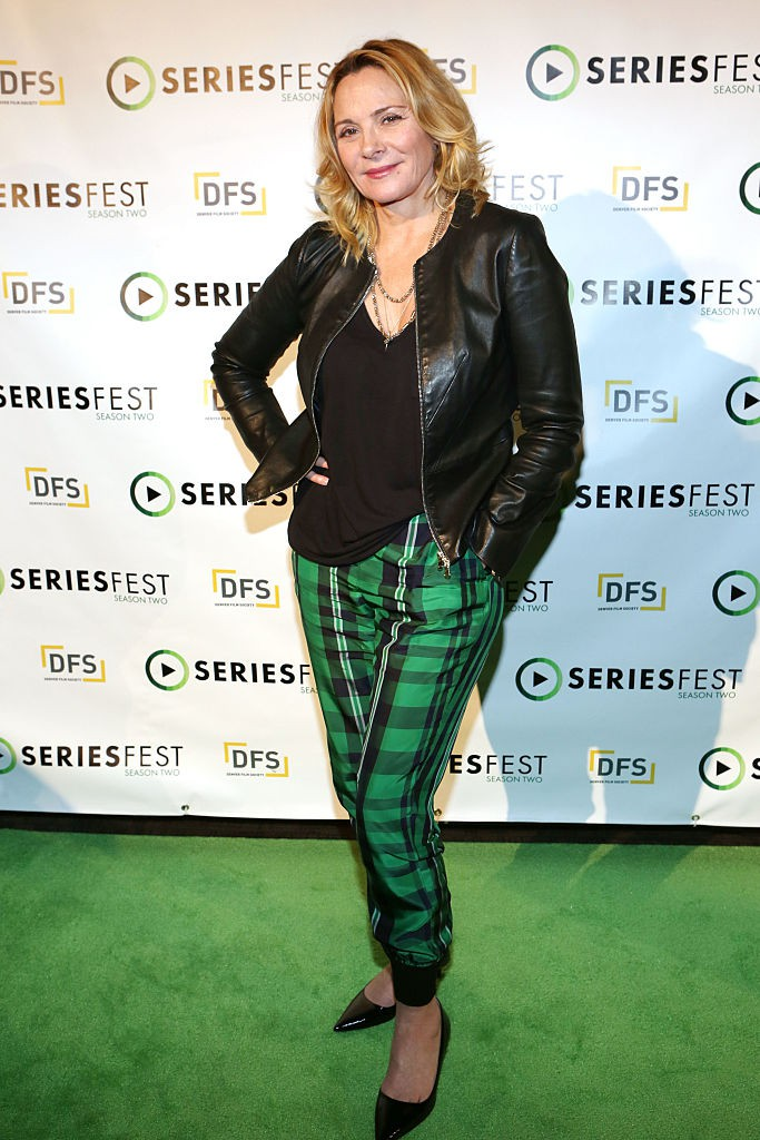 DENVER, CO - JUNE 23:  Kim Cattrall attends SeriesFest: Season Two at Sie FilmCenter on June 23, 2016 in Denver, Colorado.  (Photo by Jason Bahr/Getty Images for SeriesFest)