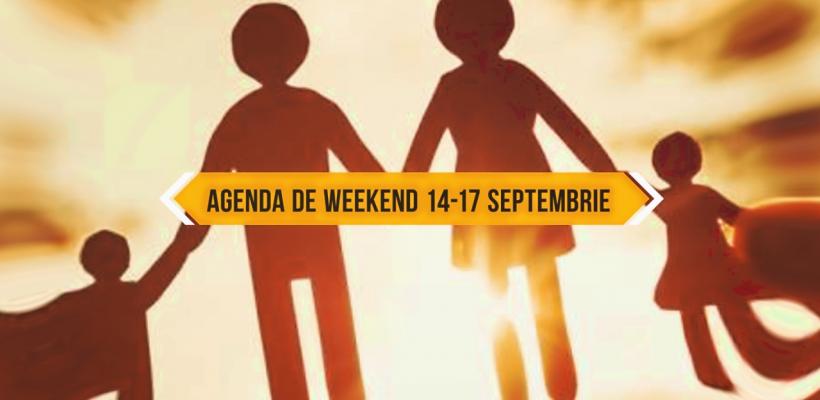 Artiști de top și multă muzică pe final de săptămână! Vezi agenda de weekend pentru 14-17 septembrie (Videografic)