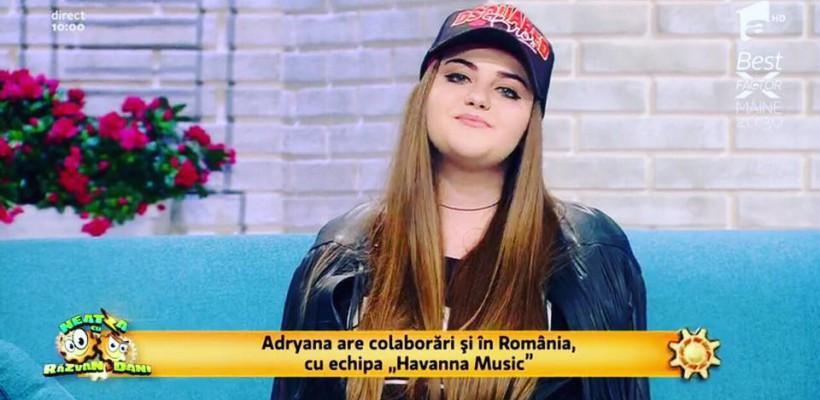 """Adryana Unciuc, tânăra promovată de casele de discuri din România. """"Succesul mi-l construiesc treptat"""""""