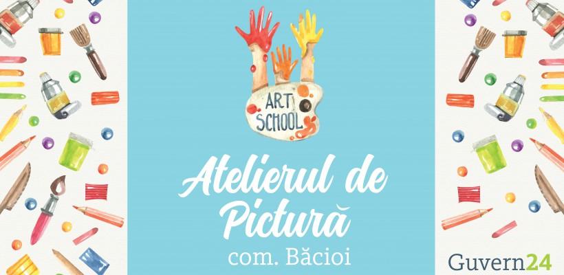 Susținem talentele și creativitatea! Susținem Atelierul de pictură din comuna Băcioi!
