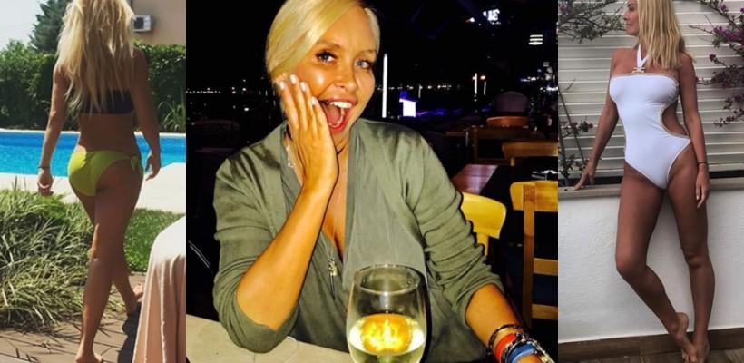 Vica Blochina, iubita lui Sergiu Lucinschi pozează provocator pe rețelele de socializare! Ce imagini afișează vedeta de 42 de ani