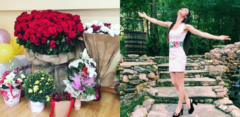 De ziua sa, o interpretă de la noi a avut casa plină cu flori! Despre cine este vorba