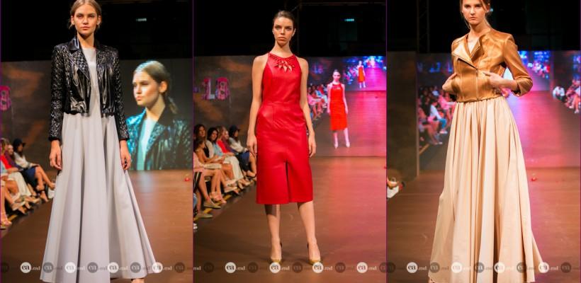 Irina Calancea s-a lansat și în domeniul hainelor din piele. Colecția este dedicată prietenei Tanya Lujanskaia