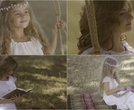 Kamelia Melnic, eroina celui mai nou videoclip al Cristinei Ceauș! Ce rol are micuța (VIDEO)
