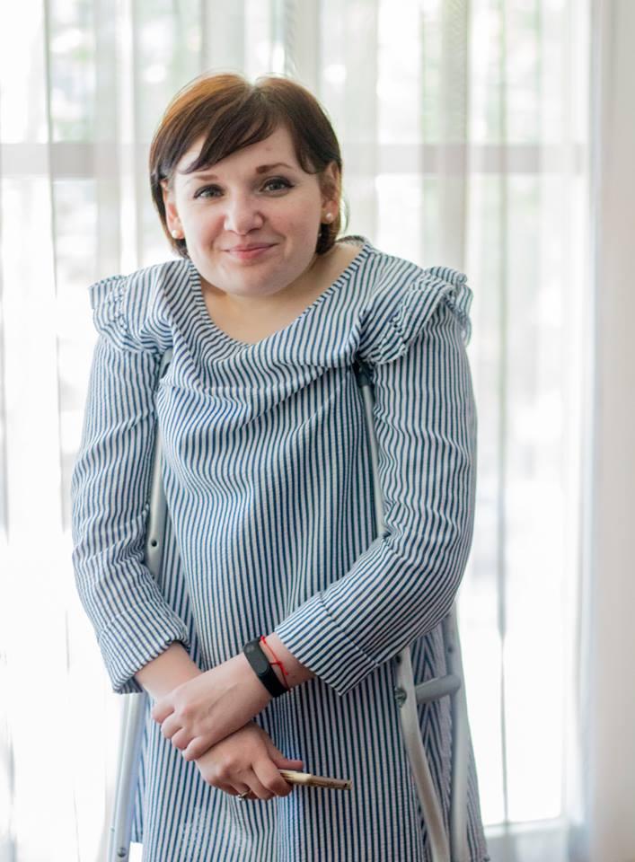 Președinta Asociației Antreprenorilor cu Dizabilități din Moldova