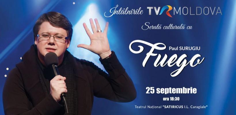 Cunoaște-l personal pe Fuego! Vino la întâlnire cu interpretul, pe 25 septembrie