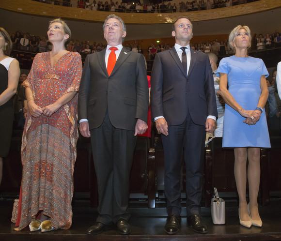 Colombia's President Juan Manuel Santos visits France