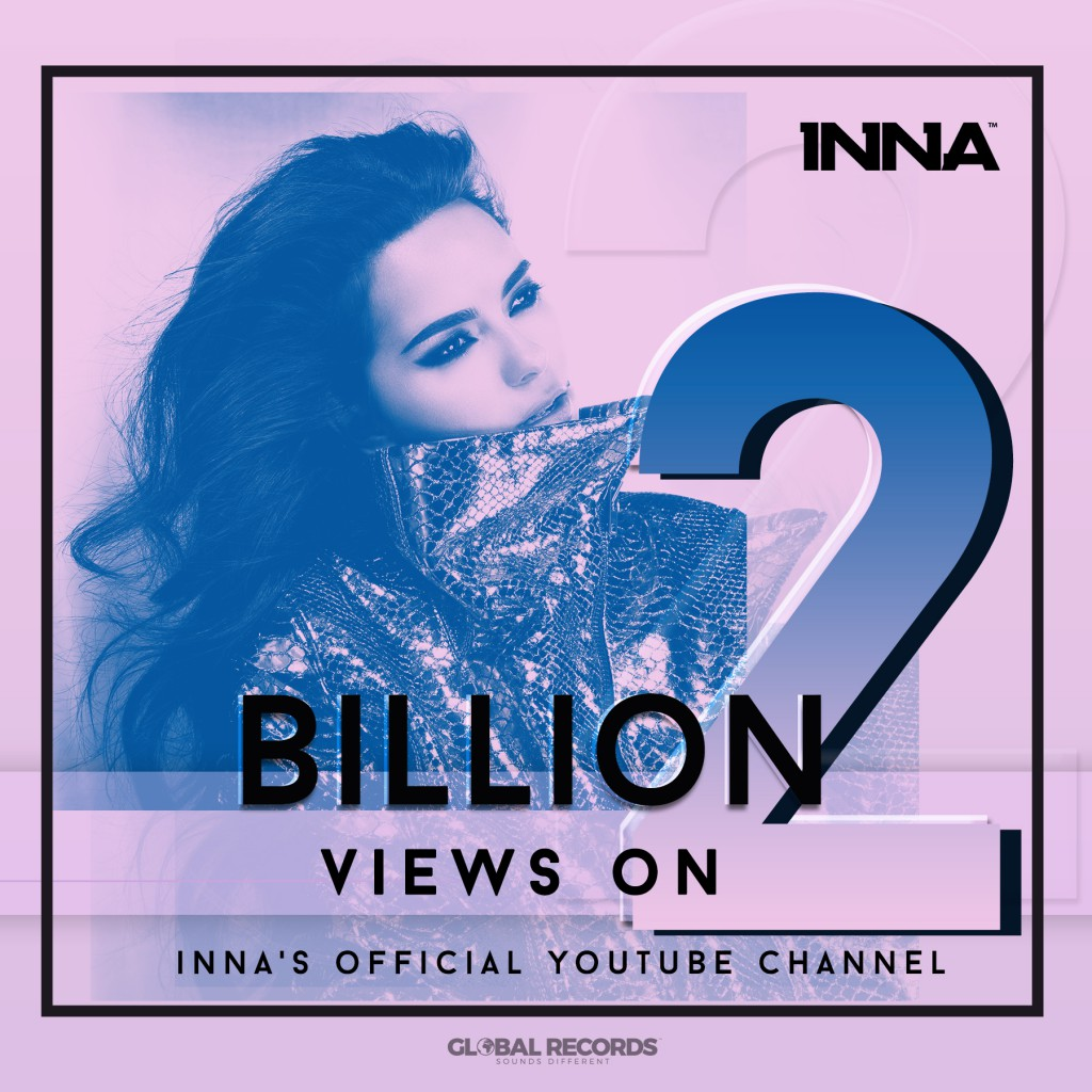inna 2 billions instagram