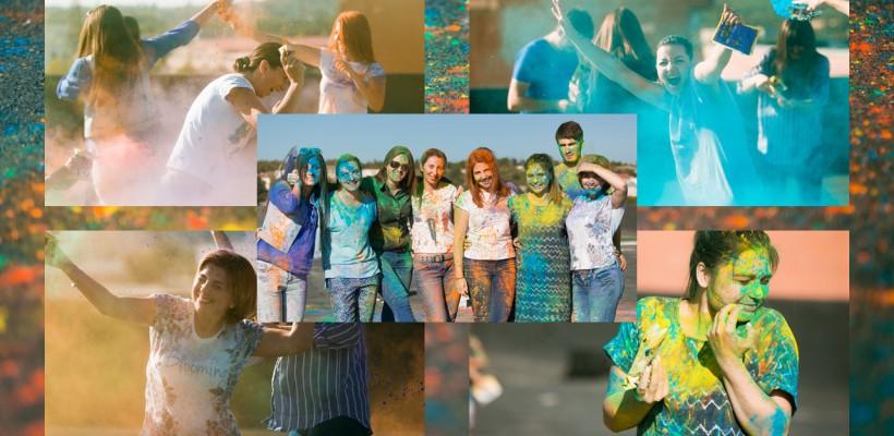 Explozie de culoare la Interact Media! Angajații Agora.md și Ea.md, așa cum nu i-ați mai văzut (FOTO)
