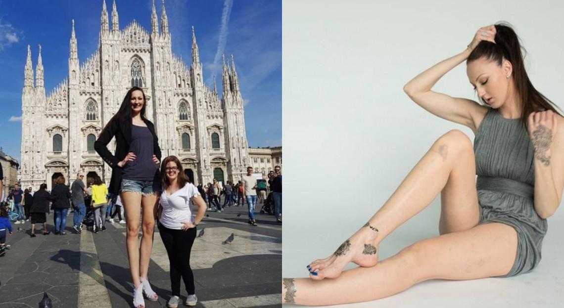 """Are cele mai lungi picioare din lume și zeci de mii de admiratori! Rusoaica Ekaterina Lisina: """"Cel mai complicat este în avion"""""""