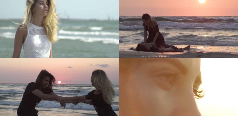Valeria Lungu, în imagini fierbinți, pe malul mării! S-a filmat în cel mai recent videoclip al mamei sale
