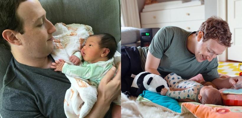 Mark Zuckerberg, într-o imagine adorabilă cu micuța August! De o săptămână, e tată la pătrat