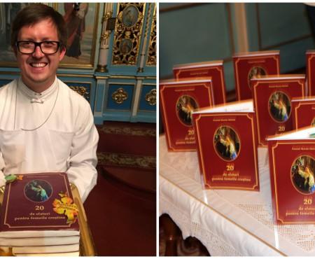 """Părintele din Ghidighici a făcut-o și pe asta! Maxim Melinti a lansat cartea """"20 de sfaturi pentru femeile creștine"""""""