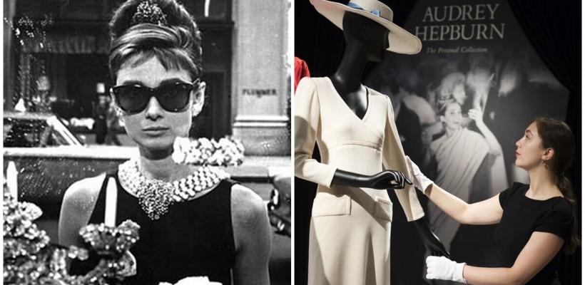 Colecția personală a lui Audrey Hepburn, scoasă la licitație la Londra. O valiză, pantofi, ochelari, rochii negre…