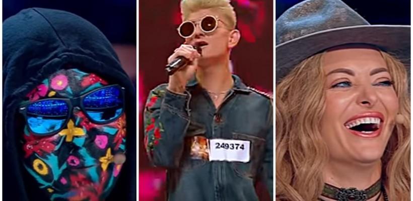 Prestația lui Johy Davis la X Factor, de râs și de plâns. Jurații și prezentatorii au făcut glume la greu pe seama moldoveanului