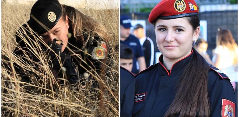 Top 7 femei în Trupele de Carabinieri