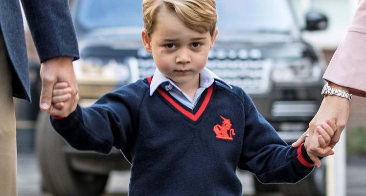 Meniu regal?! Ce mănâncă Prințul George la școală