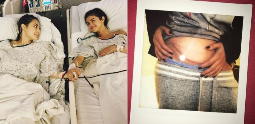 Primele imagini cu Selena Gomez în spital! Interpreta a suferit un transplat de rinichi