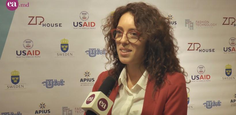 """Elena Zbârnea, despre Fashion Acceleration Program: """"Pentru noi a fost un progres calitativ și cantitativ foarte vizibil"""" (Video)"""