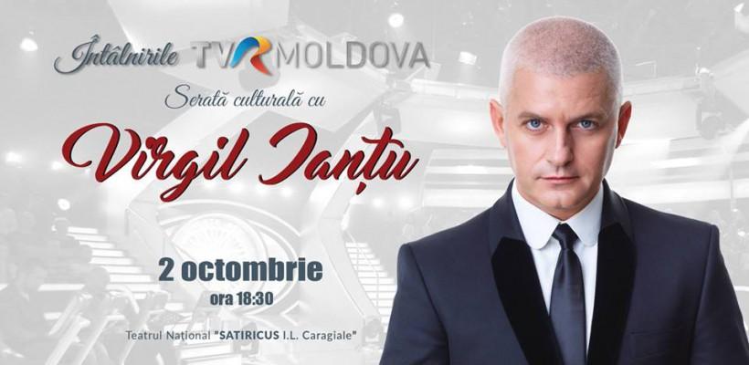 Vino la o întâlnire de suflet și de personalitate cu prezentatorul român Virgil Ianțu