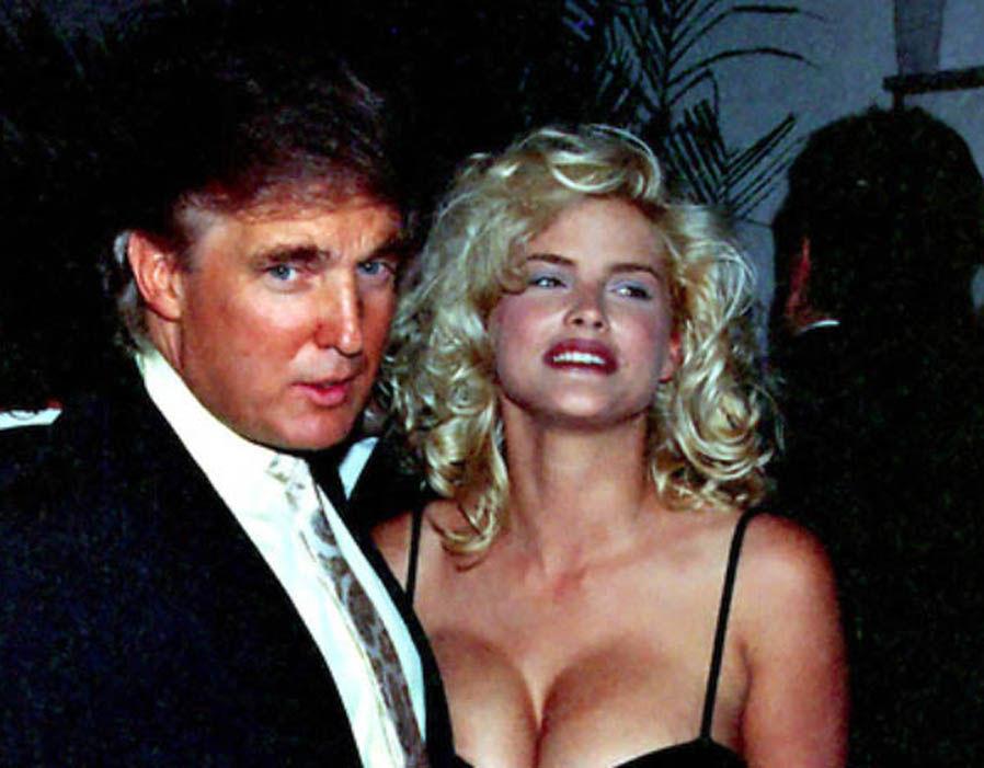 Foto express.co.uk: Ivana și Donald Trump