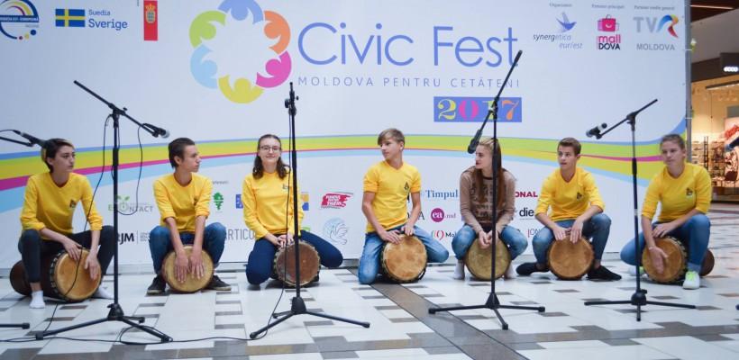 Noi idei de dezvoltare socială la CIVIC FEST 2017. Cum s-a desfășurat cea de-a 5-a ediție a festivalului