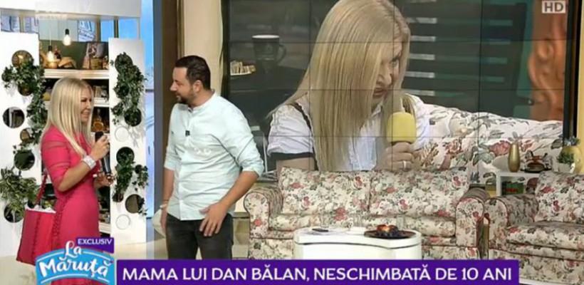 """Ludmila Bălan i-a urat """"la mulți ani"""" lui Cătălin Măruță. Prezentatorul: """"La aproape 60 ani, arată cu cel puțin 10 ani mai tânără"""""""