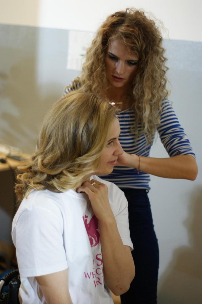 Hair style liudmila