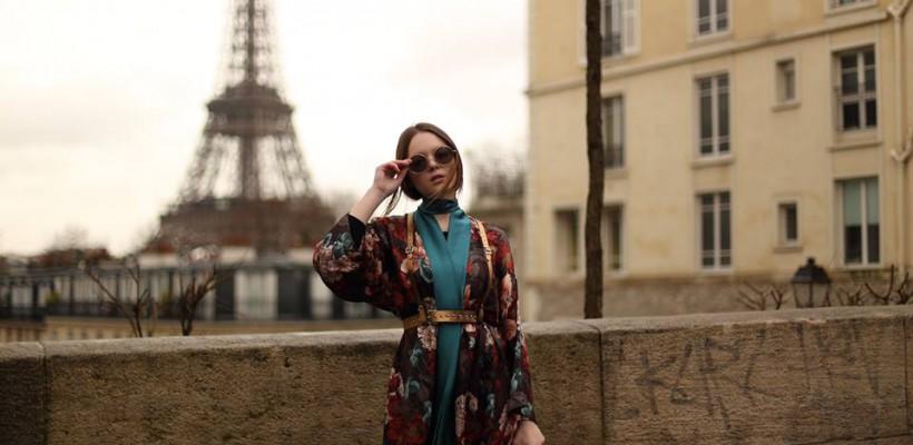 O moldoveancă stabilită la București e fashion bloggeriță. Corina Bîrcă, despre cum se împacă pasiunea pentru modă și liceul