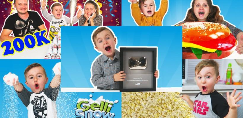 """Are doar 4 anișori și peste 200 de mii de abonați! Faceți cunoștință cu """"Alexunea TV"""", micul vlogger cu un viitor promițător (Video/ Foto)"""