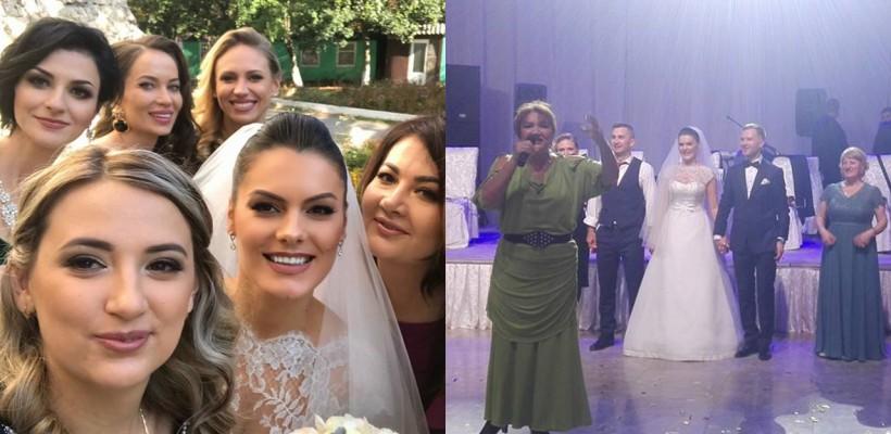 Alina Zotea a optat pentru o nuntă cu tradiții! Admiră primul dans al mirilor și vezi ce piesă a cântat soțul deputatei