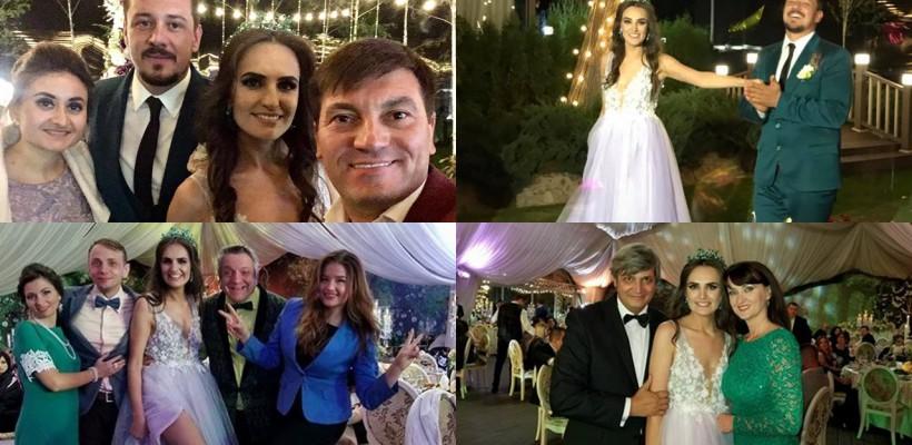 """Prezentatoarea Jurnal TV, Diana Botnaru a îmbrăcat rochia de mireasă! Imagini de la """"nunta extremală"""", cu sute de invitați"""