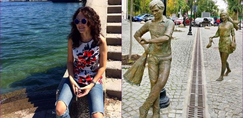 Ionela Hadârcă dedică o poezie comentariilor legate de statuile de pe strada pietonală