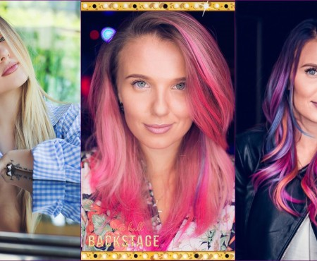 """Olga Manciu, despre mirajul de culori din părul său: """"Băieții au zis că sunt o prințesă din desenele lor preferat"""""""