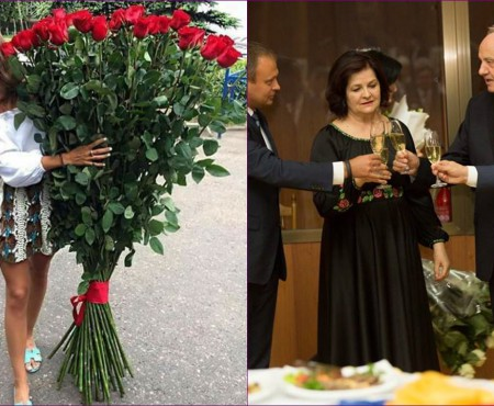 """Florist moldovean, despre trandafirii lungi, dăruiți la evenimente oficiale: """"E ridicol să dărui așa trandafiri unei oficialități"""""""