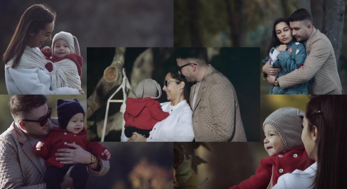 Daniela Culev, într-un filmuleț de familie emoționant! Marius, fiul bloggeriței a început să facă primii pași