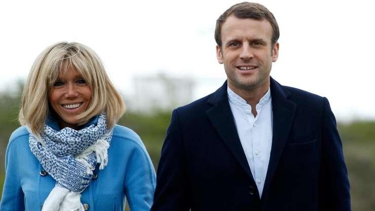 Imagini inedite de la nunta lui Emmanuel Macron cu Brigitte (Video)