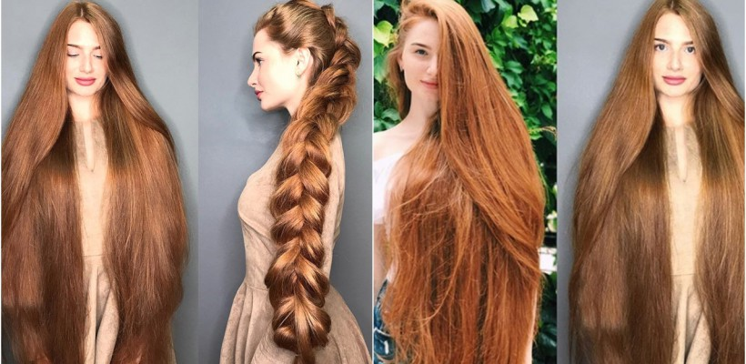 Cum îngrijim părul în perioada rece a anului? Recomandări de la femeia a cărei podoabă capilară depășește un metru lungime