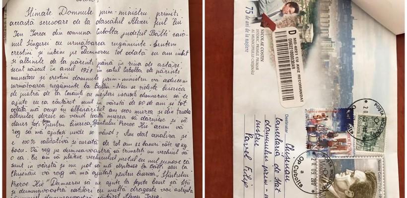 Un bătrân de 90 ani din satul Cubolta l-a rugat pe premier să-i găsească un cumpărător. Are de vândut 500 kg de miere