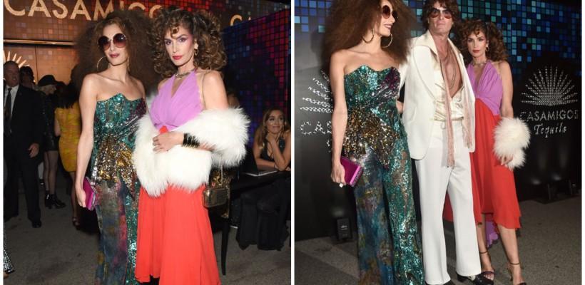 Prietenele Amal Clooney și Cindy Crawford au atras toate privirile la petrecerea de Halloween