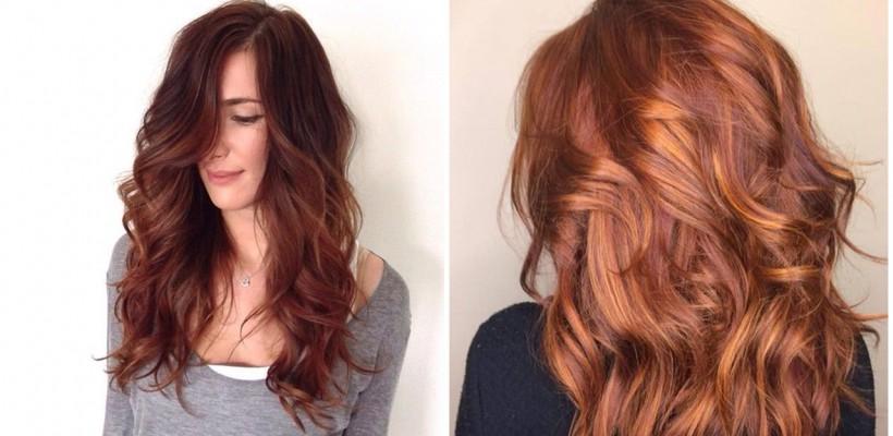 În această toamnă, se recomandă ca părul să ne amintească de frunzele ruginii și razele blânde ale soarelui