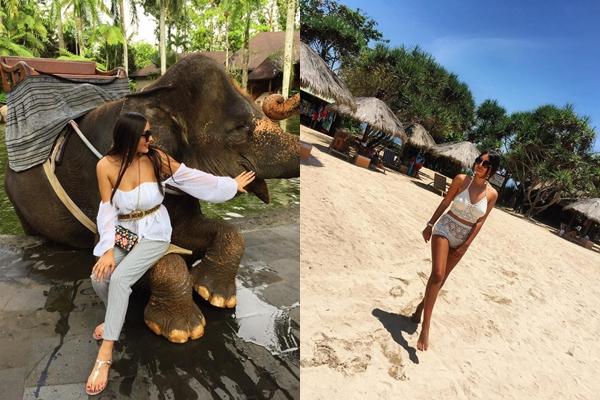 Stilată chiar și în vacanță! Bloggerița Hellen Monroe, ținute superbe pe insula din Bali (Foto)