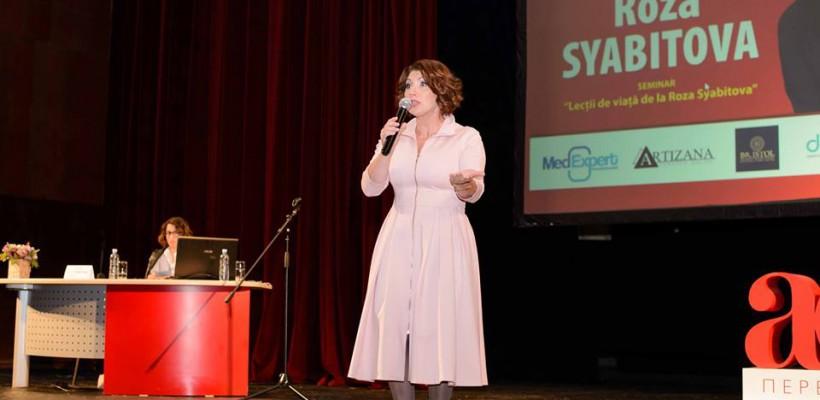 10 lecții de viață pentru moldovence de la Roza Syabitova
