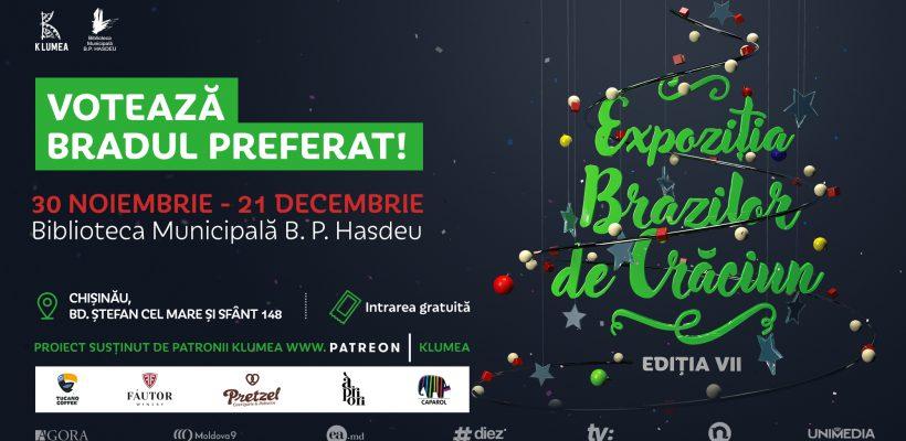 Vino și-ți alege un brad de Crăciun la Balul Brazilor de Crăciun!