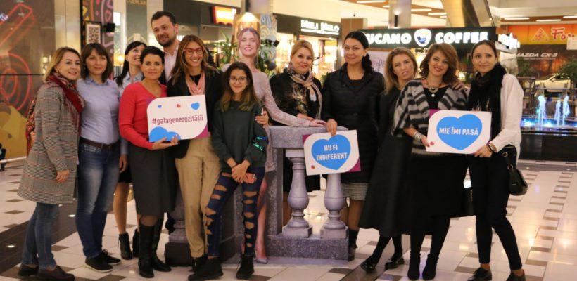 """Poza sopranei Valentina Naforniță în dimensiuni reale """"s-a plimbat"""" ieri printr-un mall din Chișinău (Foto)"""