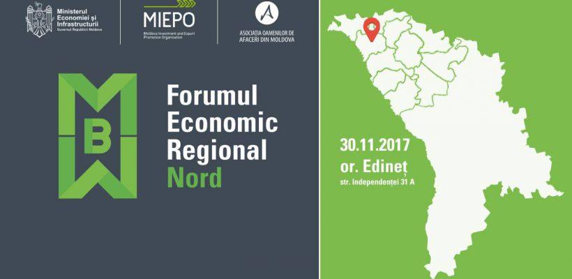 MIEPO organizează în regiunea de Nord a țării un Forum Economic