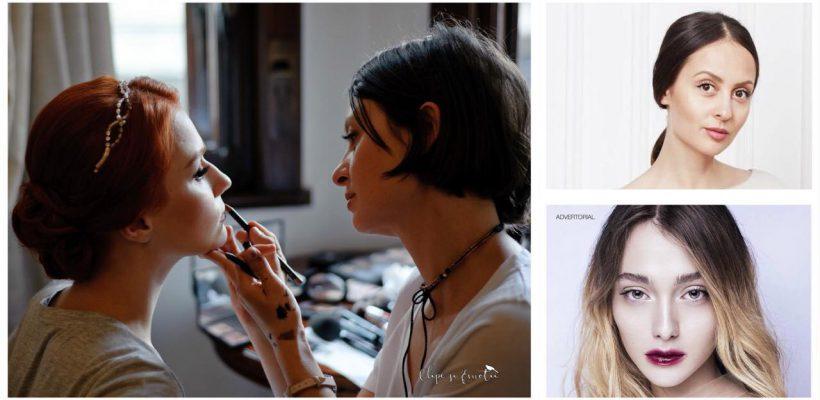 Moldoveanca Tania Cozma – make-up artist oficial în România al unei celebre companii de cosmetice. Află de la ea tendințe și secrete din arta machiajului