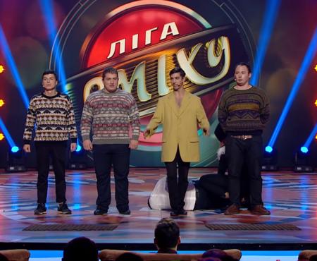 Un grup de tineri moldoveni triumfă la un show de umor din Ucraina (Video)